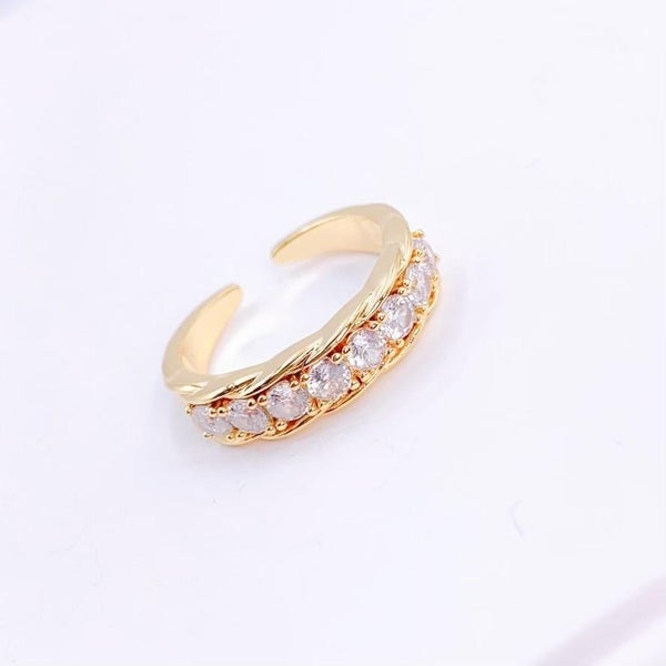 The Diamond Band Ring