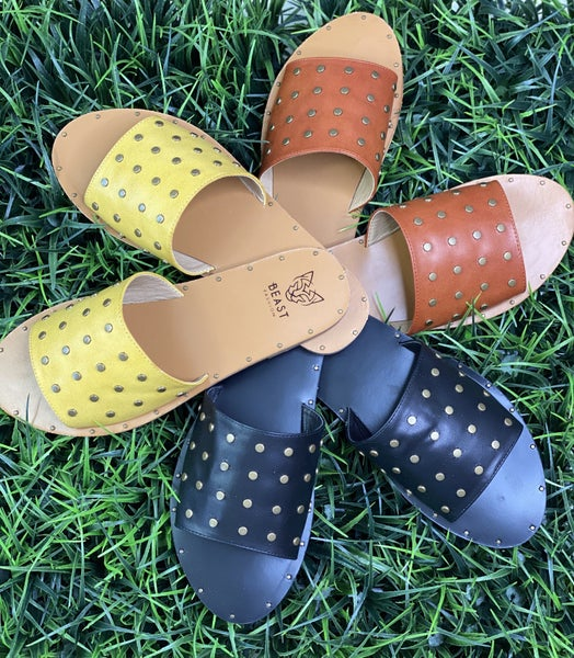 The Eli Sandals- 3 Colors