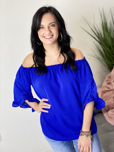 The Blue Perfection Top
