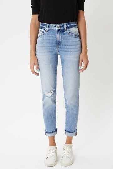 The Remi High Rise Mom Jeans