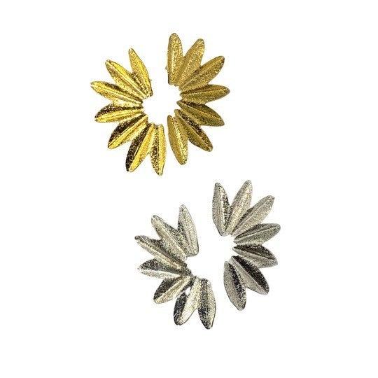 Golden Curve Earrings