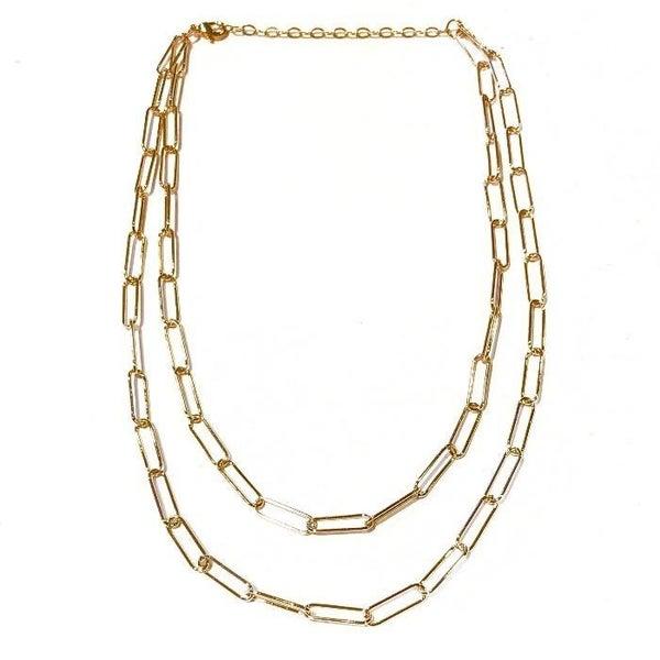 The Sasha Double Chain Necklace