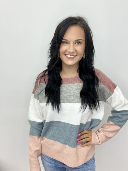 The Soft Stripe Sweater