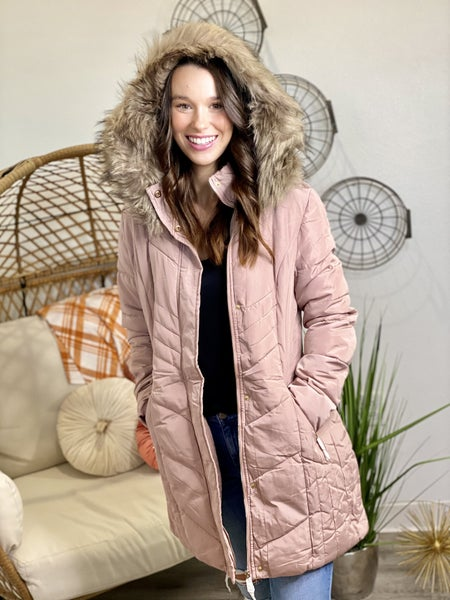 For the Long Road Rose Coat
