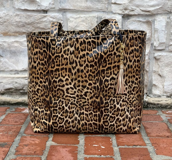 Leopard Patent MJ Totes-2 Sizes