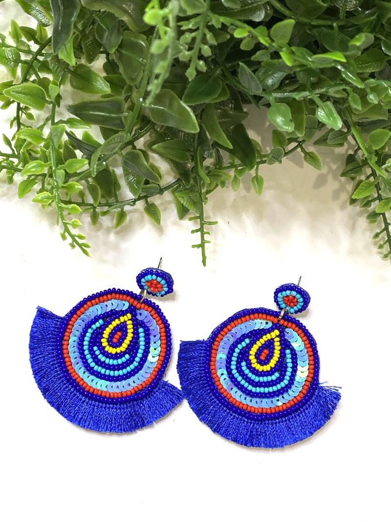 The Power of Blue Earrings