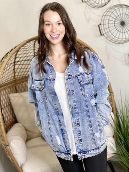 The Classic Jean Jacket-2 Colors
