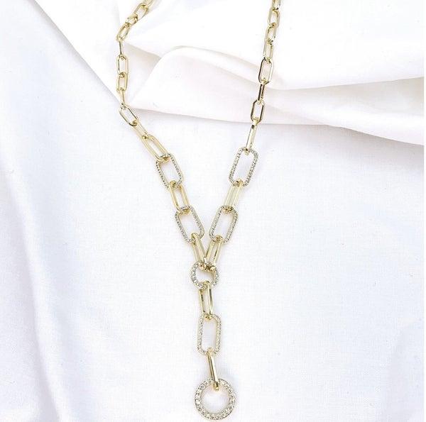 TJ Link Crystal Necklace