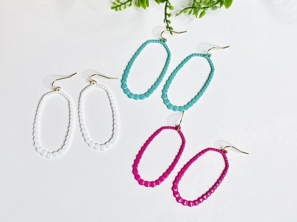 The Open Leah Earrings-3 Colors
