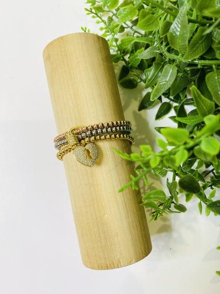 LD STEAL 74-Slink Trio Bracelets