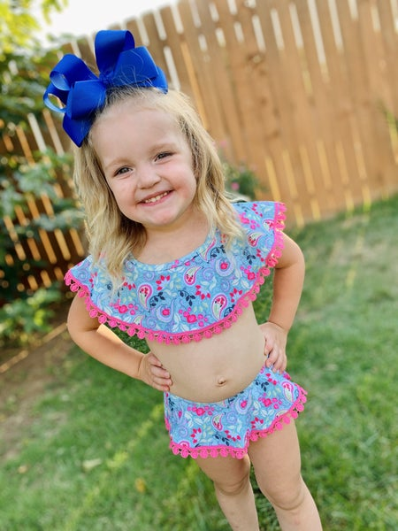 Paisley Kids Swimsuit