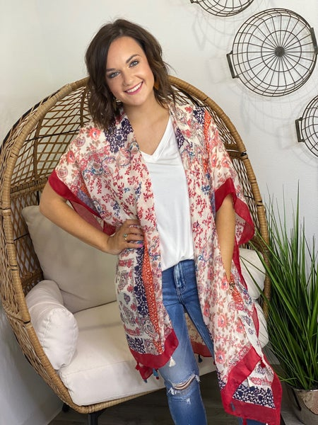 LD STEAL #6- Fall Tassel Kimono