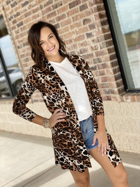 STEAL Mixed Print Cardigan ALL Sizes