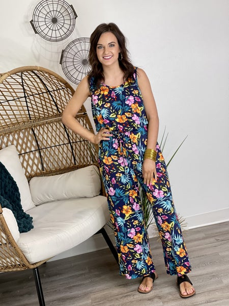 The Luau Jumpsuit - All Sizes