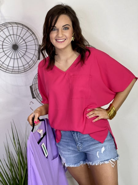 The Cherry Baby Top-2 Colors