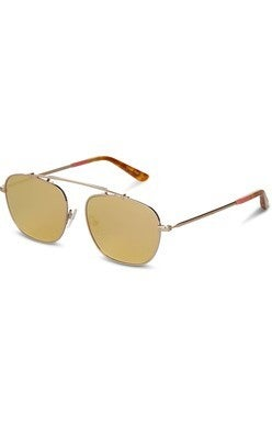 TOMS Riley Sunnies-Rose Gold Mirror