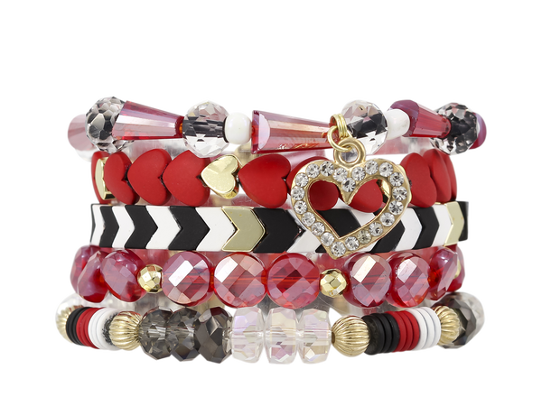 The Erimish Heart Stack- All Sizes