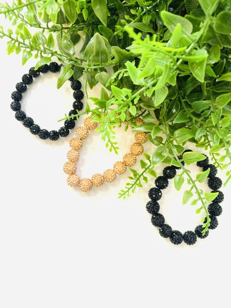 Balls of Bling Bracelets