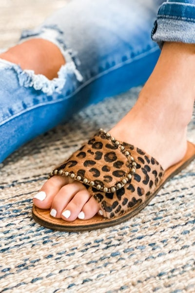 The Spotted Swank Sandals