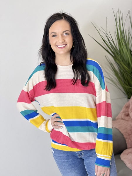The Sunny Tell it Pullover