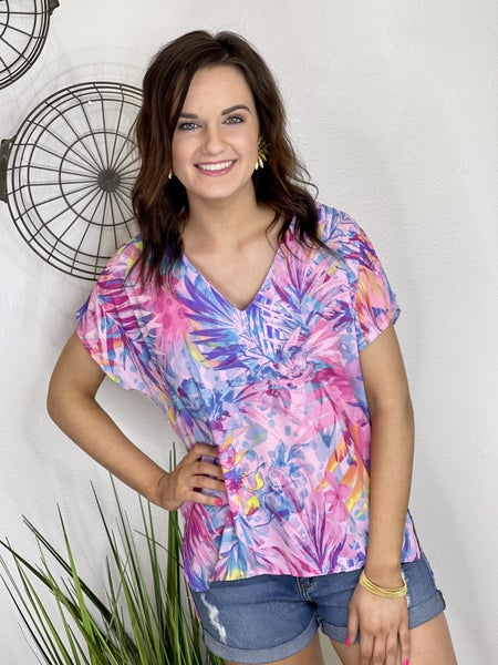 The Watercolor Top