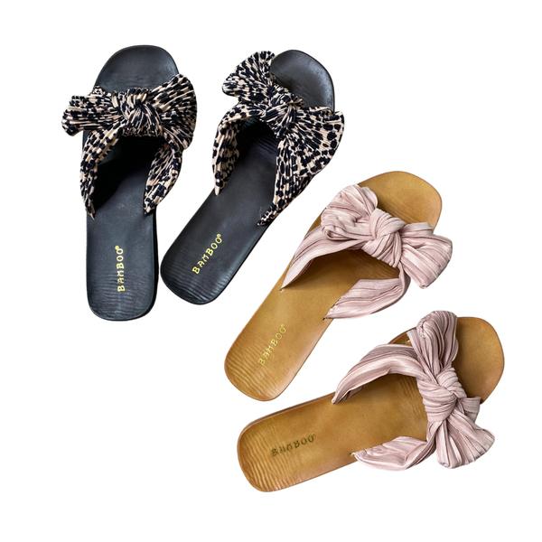 The Sunbathe Sandals - 2 Colors