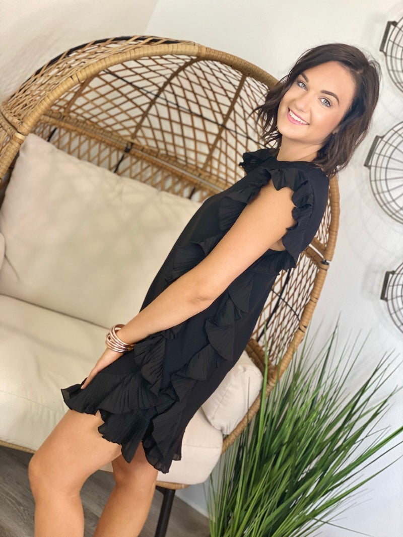 The Cocktail Dress in Black