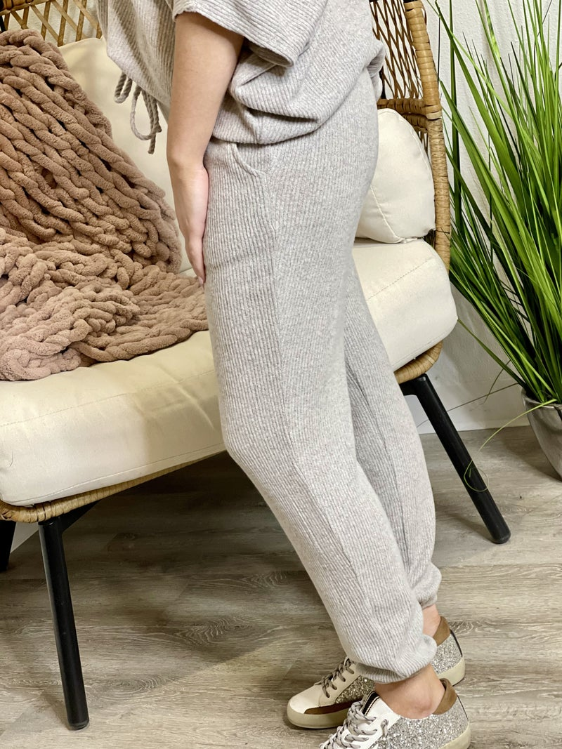 The Brushed Adrienne Joggers