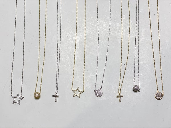 Dainty Luxe Necklaces-Lots