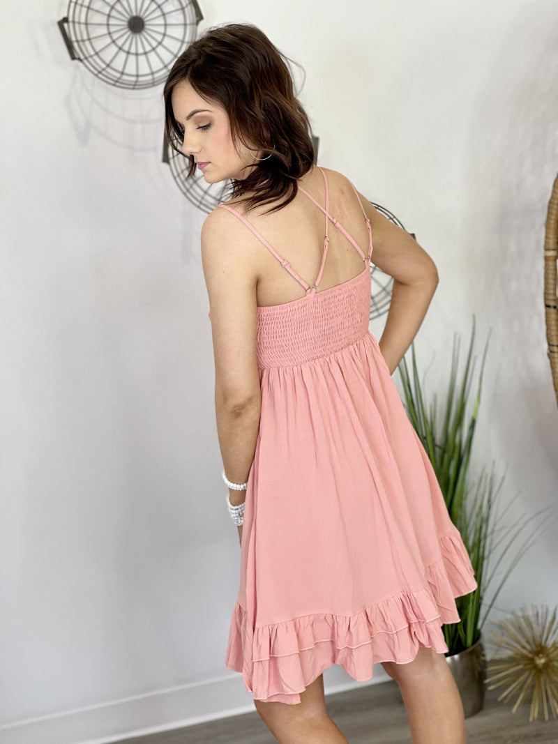 The Coral Cree Dress