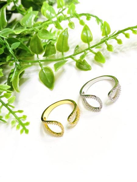 The Petite Hoof Rings