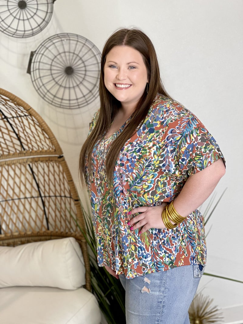 The Paisley Smith Top