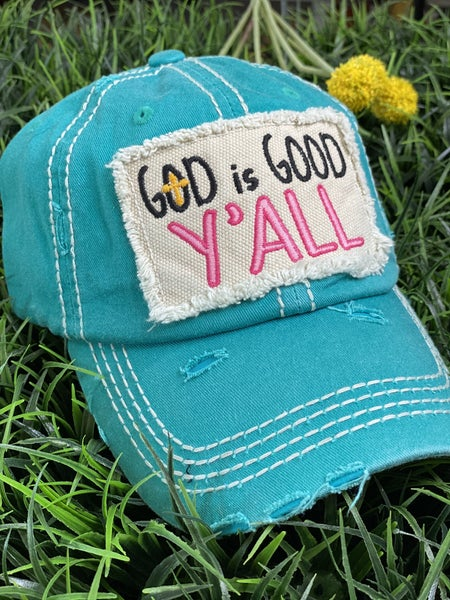 God is Good Patch Hat