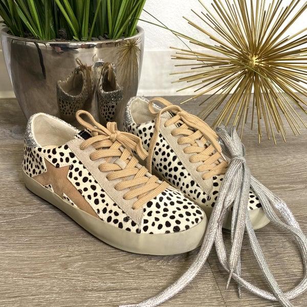 The Sabrina Cheetah Sneakers