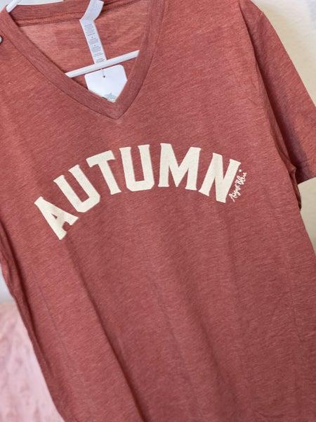 Autumn Terracotta Tee