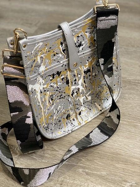 The Silver Camo Camila Bag