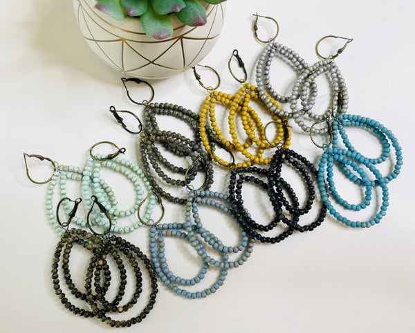 The Rare Bird Earrings-Lots of Colors