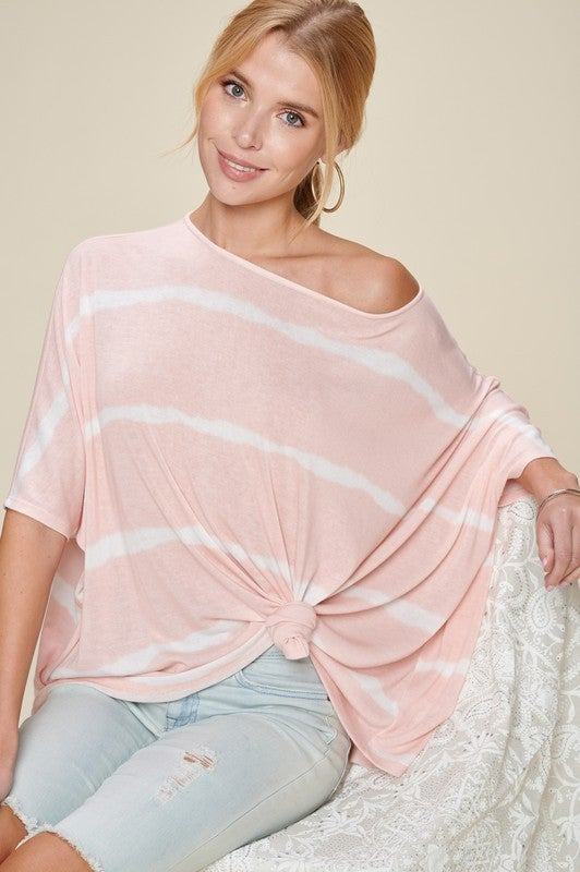The Boatneck Stripe Top in All Sizes