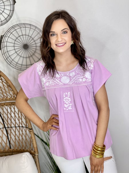 The Violet Anniston Top