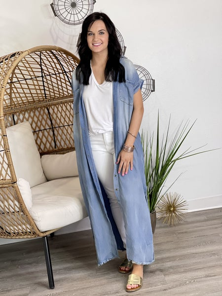 The Denim Duster in All Sizes