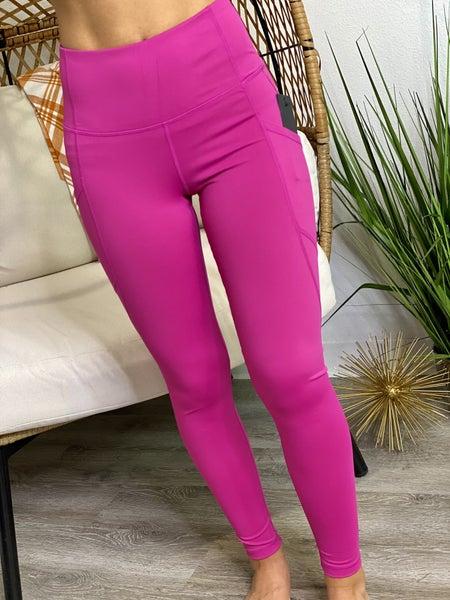 The Pink Pocket Leggings