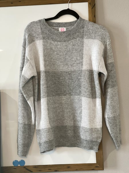 Casual Check Sweater