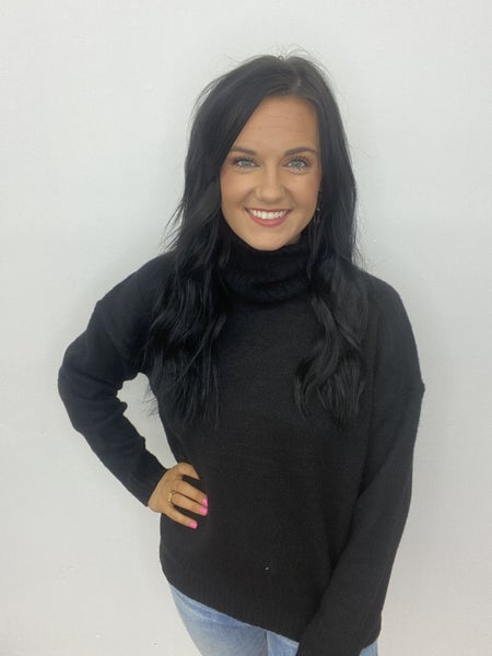 The Classic Sweater in Black