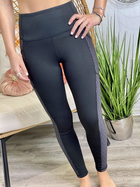 Diamond Jacquard Highwaist Leggings