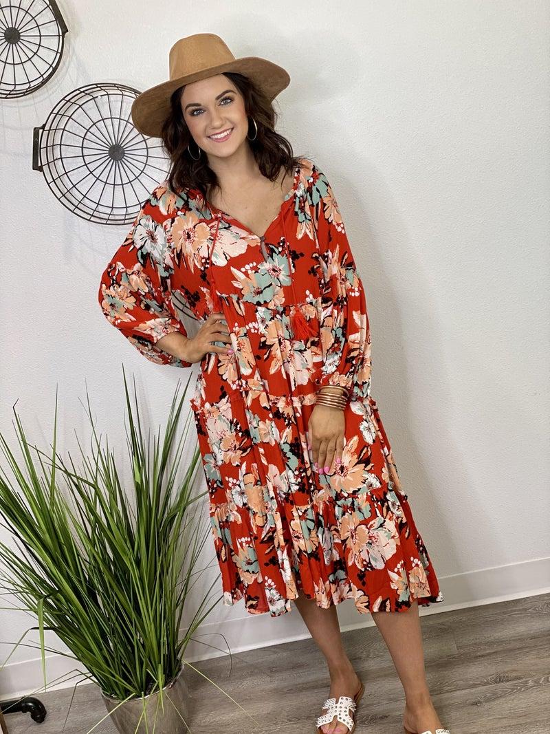 The Love in Bloom Dress