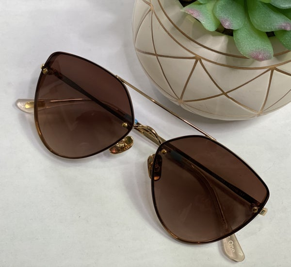 Toms Solana Sunnies-Brown
