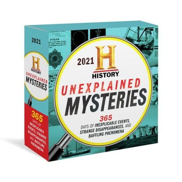 2021 Unexplained Mysteries Boxed Calendar
