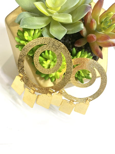The Aurora Gold Earrings
