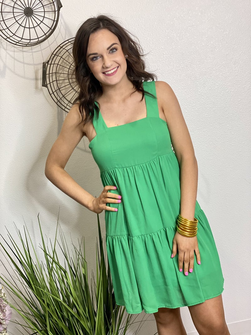The Tiered Dress - 4 Colors