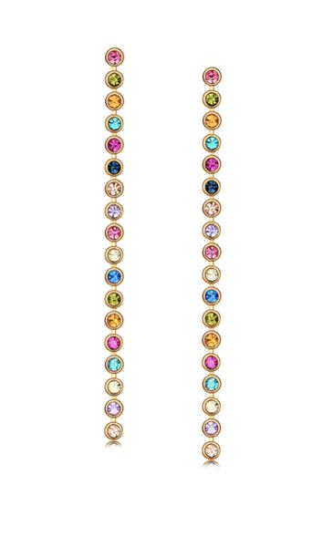Amal Gem Drop Earrings